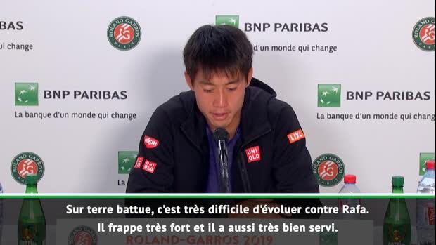 "Basket : Roland-Garros - Nishikori - ""Franchir les quarts de finale en Grand Chelem"""