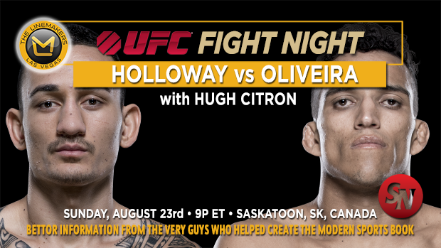 UFC Fight Night Holloway Vs Oliveira