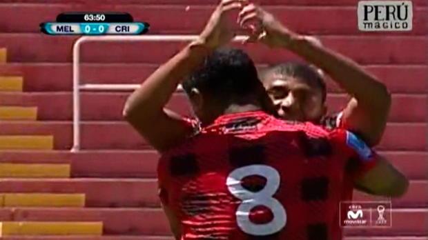 Le latéral gauche de Melgar Neilinho Quina a inscrit un but d'une frappe très puissante lors du match remporté par son équipe (1-0) contre le Sporting Cristal dans le championnat du Pérou.