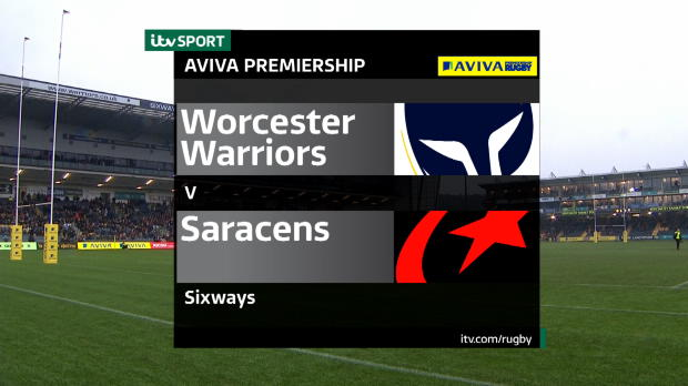 Aviva Premiership - Match Highlights:Worcester Warriors v Saracens