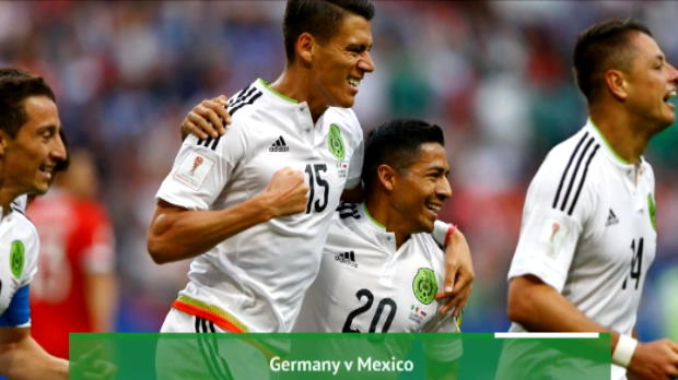 كرة قدم: كأس القارات: تقديم موقعة ألمانيا × المكسيك.. تحليل أوبتا