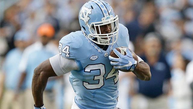 Raiders select Elijah Hood No. 242 in the 2017 NFL Draft