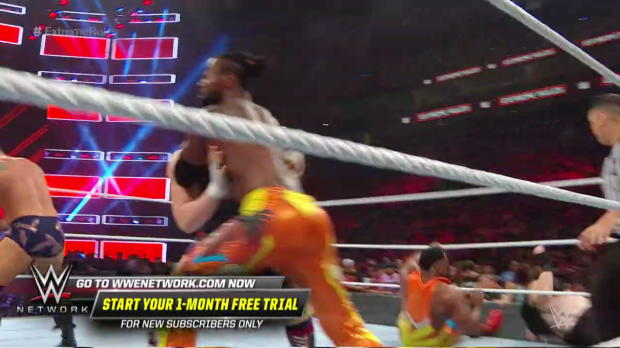 Pandemonium erupts between New Day and SAnitY: WWE Extreme Rules 2018 Kickoff Match