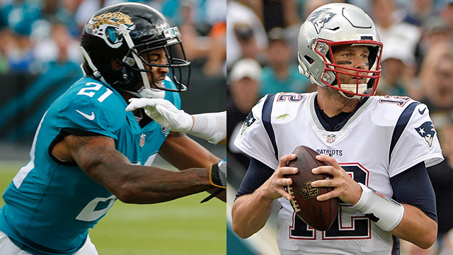 Jacksonville Jaguars cornerback A.J. Bouye: We used NFL Network Steve Mariucci's prediction for New England Patriots quarterback Tom Brady as motivation