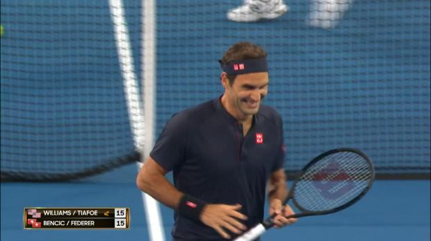 Basket : Hopman Cup - Federer vainqueur de Williams en double mixte
