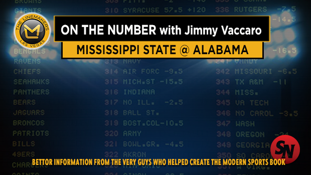 Jimmy V on Mississippi State @ Alabama