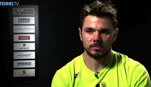 Wawrinka Interview: ATP Basel 1R