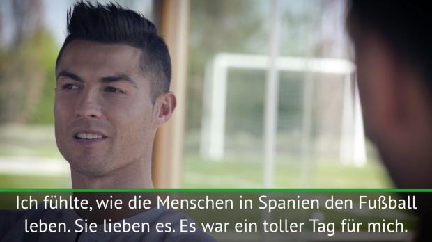 """FOOTBALL: La Liga: Ronaldo: """"Werde die Red Devils nie vergessen"""""""