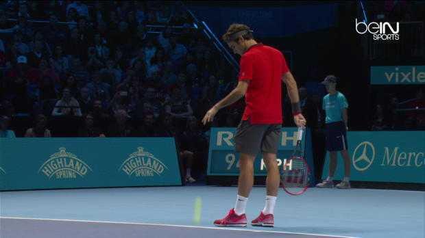 Masters : Federer vs Wawrinka (4-6 7-5 7-6)