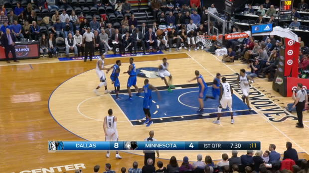 GAME RECAP: Timberwolves 97, Mavericks 84