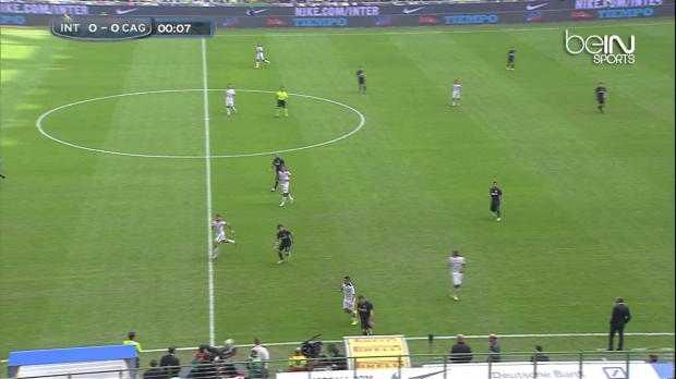 Serie A : Inter Milan 1-4 Cagliari