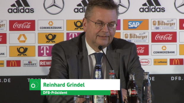 """Grindel: """"Hinter Erfolgen steckt harte Arbeit"""""""