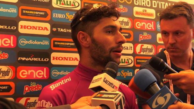 "Giro de Italia - Fernando Gaviria, feliz: ""Quiero seguir ganando"""