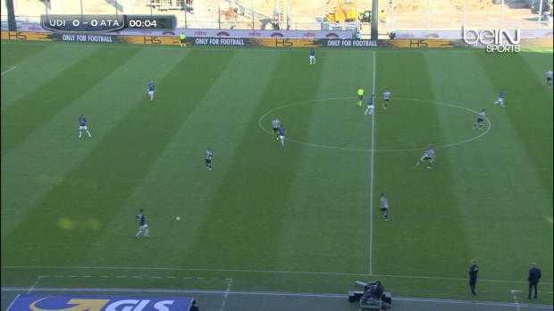 Serie A : Udinese 2-0 Atalanta