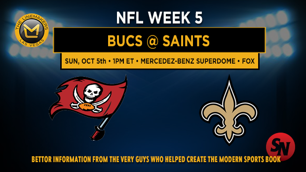 Tampa Bay Buccaneers @ New Orleans Saints