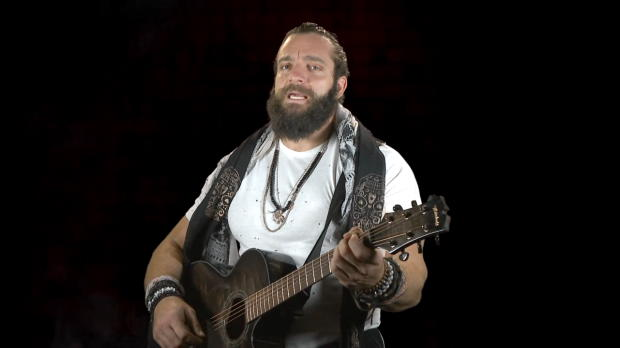 Elias serenades his WWE Elimination Chamber opponents