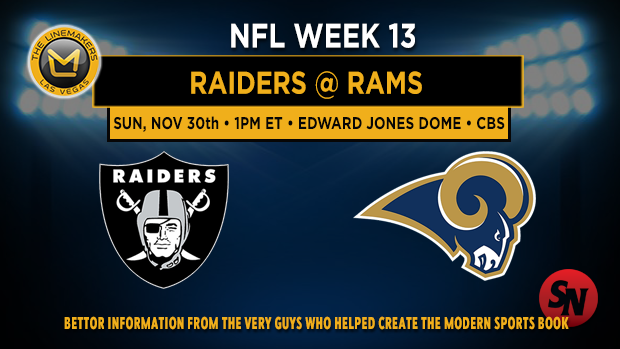 Oakland Raiders @ St. Louis Rams