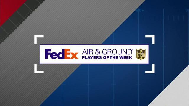 FedEx Air and Ground winners in Week 4