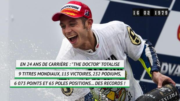 Né le 16 février - Valentino Rossi nouveau quadra !