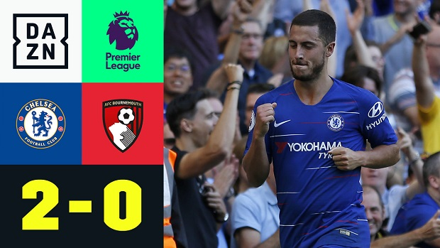 Premier League: Chelsea - Bournemouth | DAZN Highlights