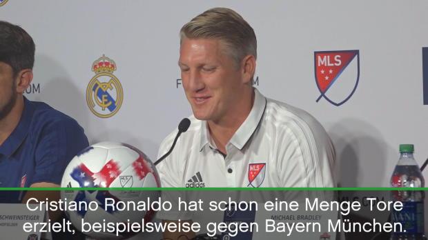Schweinsteiger zu Ronaldo, Müller und der MLS