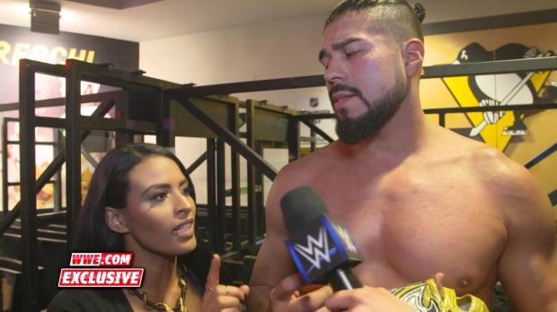 "Zelina Vega reveals what's next for Andrade ""Cien"" Almas: WWE.com Exclusive, July 15, 2018"