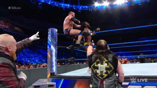 Kofi Kingston vs. Eric Young: SmackDown LIVE, July 17, 2018