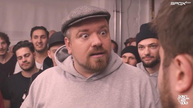 """Rap-Battle, Fussball Bars (Runde 3): """"Gascoigne: Ist das englisch für Spritgeld?"""""""