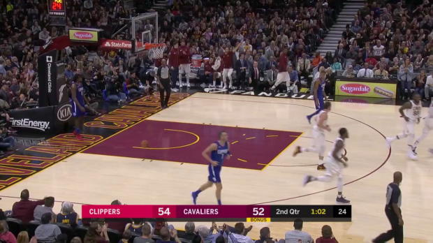 WSC: LeBron James (39 points) Game Highlights vs. Los Angeles Clippers