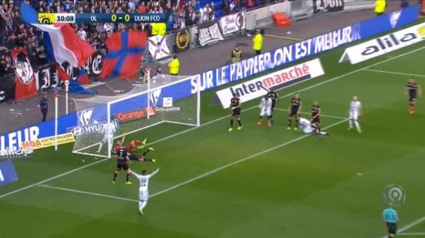 كرة قدم: الدوري الفرنسي: ليون 4-2 ديجون