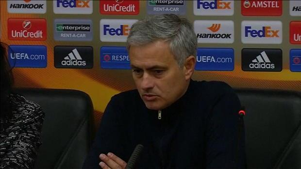"""Mourinho: 2:0 vs. Sorja Luhansk? """"Dominant"""""""