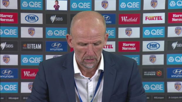 Perth Glory Rd14 press conference