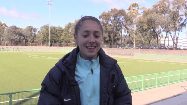 Mini Matildas buzzing with selection