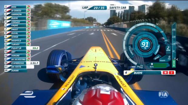 Formula E - Bird gana en Buenos Aires