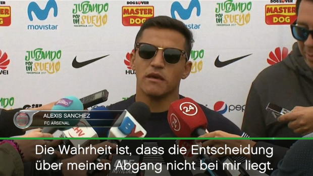 "Sanchez: ""Ich will Champions League spielen"""