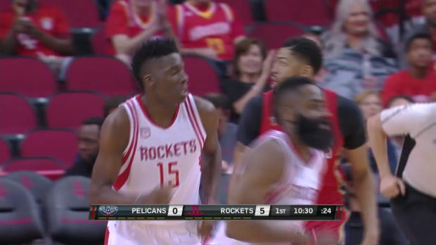 WSC: James Harden with 17 Assists against the Pelicans