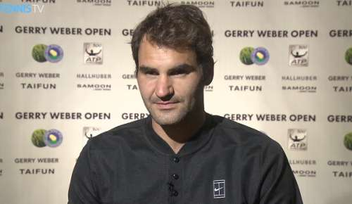 Federer Interview: ATP Halle 2R