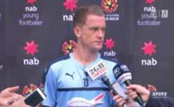 Sydney FC midfielder Brandon O'Neill is the October nominee for the NAB Young Footballer of the Year award.
