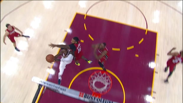 Block of the Night: James Johnson