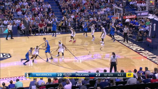 WSC: DIrk Nowitzki mit 23 Punkten gegen die Pelicans