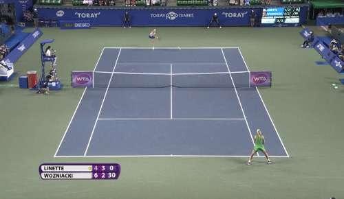 Wozniacki Hot Shot: WTA Tokyo QF