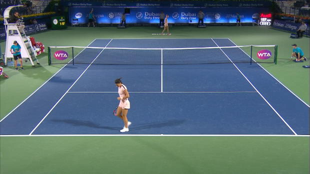 Tennis : Dubaï - Garcia sans -trop- trembler
