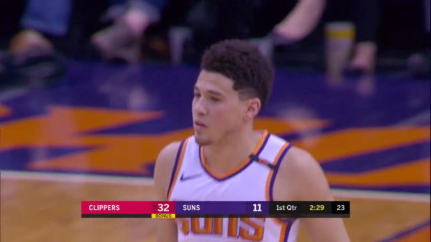 WSC: Devin Booker (27 points) Highlights vs. Los Angeles Clippers