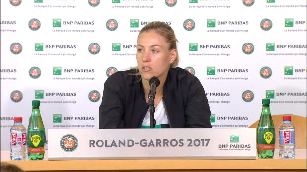 French Open: Kerber über die eigene Psyche