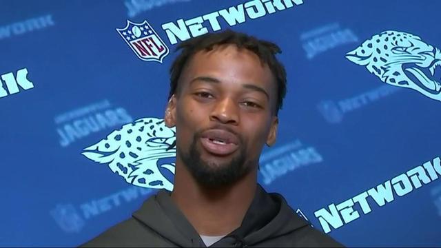 Jacksonville Jaguars cornerback A.J. Bouye on quarterback Blake Bortles: 'I call him Fiesta Blake'
