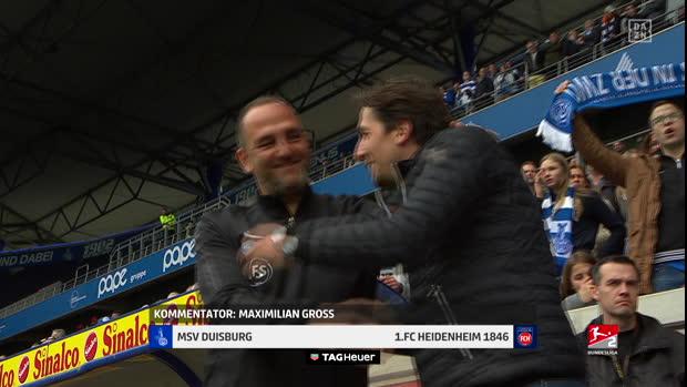2. Bundesliga: MSV Duisburg - 1. FC Heidenheim 1846   DAZN Highlights