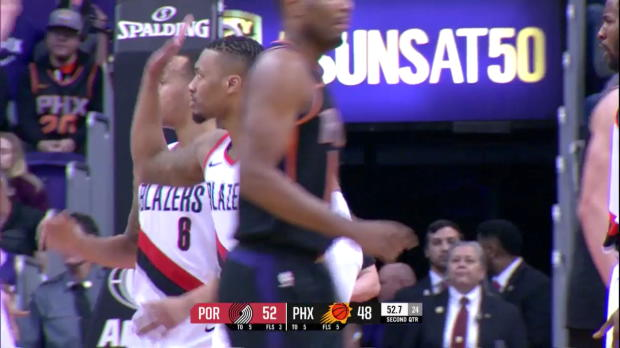 WSC: Damian Lillard (40 points) Highlights vs. Phoenix Suns