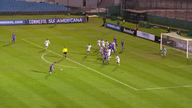 Copa Sudamericana: Wahnsinns-Weitschußhammer