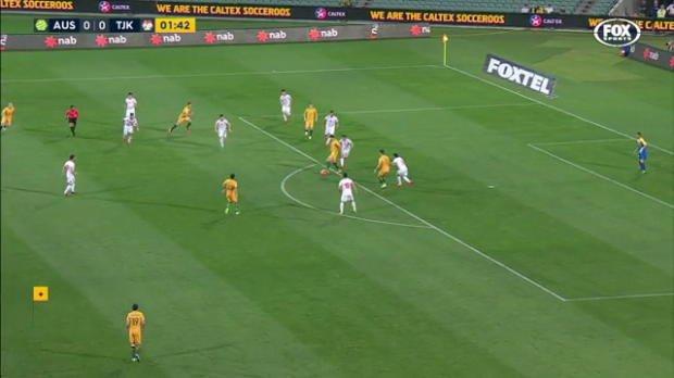 Caltex Socceroos thrash Tajikistan