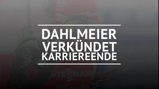 Biathlon: Dahlmeier verkündet Karriereende